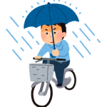道路交通法改正で自転車の傘さし運転が罰則対象。レインコートを|役立ち情報ナビ